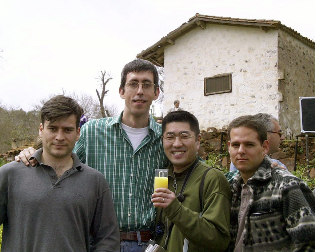 Enrique San Hemeterio, Guillermo Lorenzo, Tatsuo Miyayima y Jose Royo